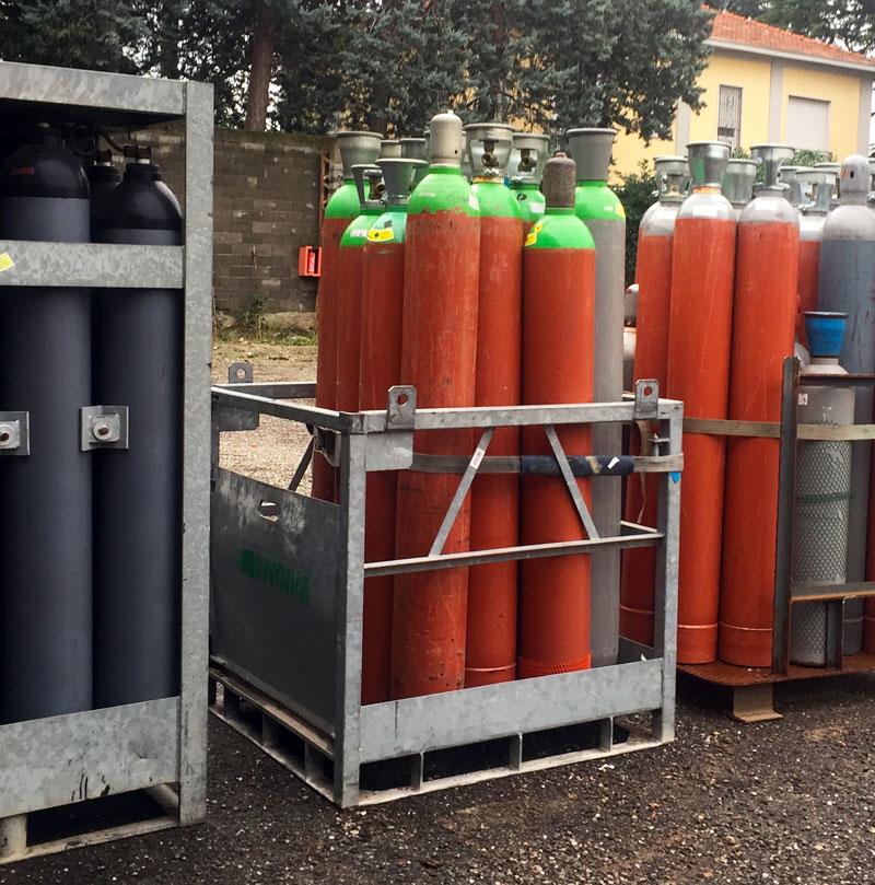 Gas tecnici in bombole